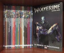 Opera Complete 25 Comics Wolverine Series Oro Marvel