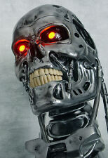 Enmarcado impresión-Terminator Genisys robot cabeza (Imagen Arte Cartel Blu-Ray DVD)