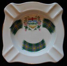 Vtg RIDGWAY POTTERIES Royal Adderley Fine Bone China England Alberta Tartan 177