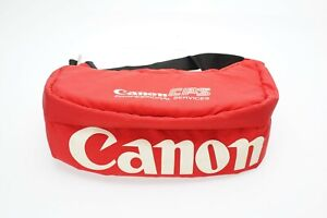 Genuine Canon CPS Padded Hip Camera Bag (Red) - #C50653