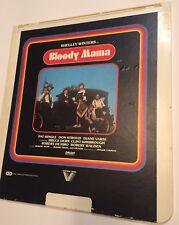 CED VideoDisc BLOODY MAMA 1970