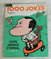 Cover Bob Hope Vintage 1000 Jokes Dell Magazine No. 95 Sept. - Nov. 1960