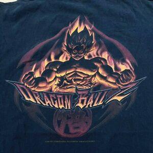 Vtg 2001 Dragon Ball Z Super Saiyan Anime Manga Promo T Shirt 90's DragonBall Z