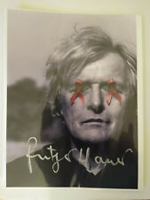 Rutger Hauer, Blade Runner star, Autographed Photo, Free Shipping!