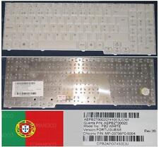 Clavier Qwerty PO Portugais Packard Bell MB88 ARES GP2W MP-03756P0-9204 Blanc