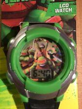 Nickelodeon Teenage Mutant Ninja Turtles, LCD WATCH, New In Packaging