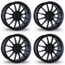 4 x Team Dynamics Matt Black Pro Race 1.2 Alloy Wheels - 5x112 | 18x8 | ET45