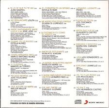 rare POP BALADA CD slip YA LO SE QUE TE VAS Juan Gabriel LOLITA Juanello PIERO
