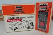 Lionel 6-12866 Trainmaster Transformer 6-128687 Powermaster 6-12868 Cab-1 Remote