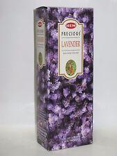 Hem Corp India Precious LAVENDER Incense Sticks 120 CT Export Quality NIB