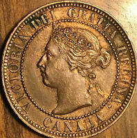 1897 CANADA LARGE CENT LARGE 1 CENT PENNY - Fantastic example!