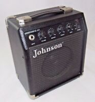 Johnson Portable Electric Guitar Amplifier Model: Standard 10 Tested & Working