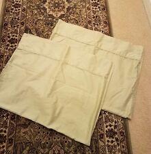 RALPH LAUREN Linens Pillowcase Standard  100% Cotton Light Pistachio Green Pair