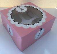 2 x CHRISTMAS CUPCAKE Boxes holds Six 6 Holly Berry Design TREATS SWEETS GOODIES