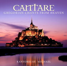 CD cantare-Gregorian Chants from Heaven de Manécanterie st. Michael