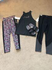 victoria secret pink Lot Size M Slides Tank Sport Leggings Floral New With Tags
