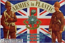 Armies in Plastic Egypt-Sudan 1882 British Royal Sussex Regiment 1/32 Scale 54mm