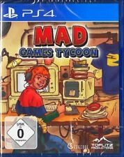 Mad Games Tycoon - PlayStation 4 / PS4 - Neu & OVP - Deutsche USK 0 Version