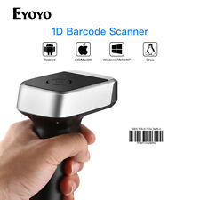Handheld Wired & 2.4G Wireless Bluetooth Barcode Scanner CCD Barcode Reader