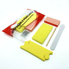 Disposable Pedicure Kits 5 pcs/kit - Buffer, File, Pusher, Pumice, Toe Separator