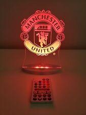 MANCHESTER UNITED LED Light -Official Merchandise (Christmas, Birthday)