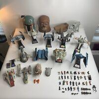 Star Wars Action Fleet Large Lot Micro Machines Galoob 1995 1996 Figurines