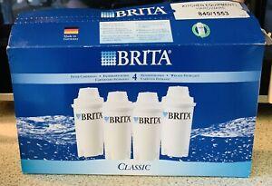 Brita Classic Water Filters 4 Pack New