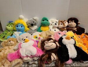 BUILD A BEAR Lot of 17 Un-Stuffed Animals  Plush.