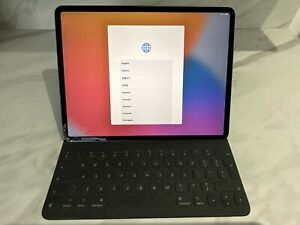 Apple iPad Pro 3rd Gen 64GB Wi-Fi 12.9 in - Space Grey Inc Smart Folio