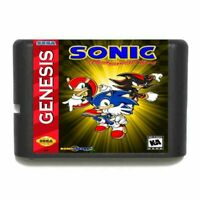 Sonic MegaMix 16 bit MD Game Card For Sega Mega Drive For Genesis