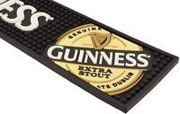 "Guinness Bar Runner PVC High Quality 18½"" x 4¼"" Irish Beer Drip Mat"