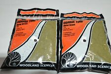 HO scale Woodland Scenics Foliage T62 BURNT GRASS foam scenery (2 bags)