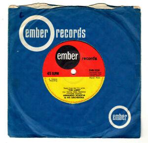 "ARMANDO SCIASCIA ORCH.THE LIARS / WORLD TOMORROW ""TV THEMES"".UK ORIG 1966 7"".VG"