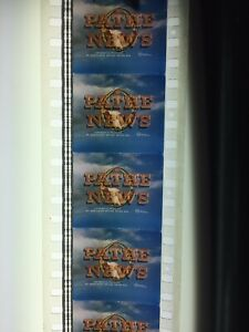Old 35mm Film Cinema Pathe News Launching Of The QE2 Colour Great Condition