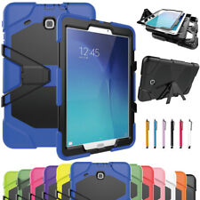 Kids Heavy Duty Tough Case Cover For Samsung Tab 3 4 A E S2 7.0 8.0 9.6 9.7 10.1