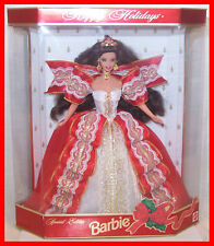 Barbie:Tenth Anniversary Holiday Series model 17832