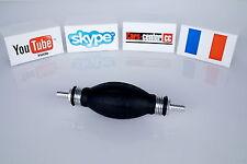 Poire d'amorcage carburant pompe bateaux métal Gasoil Essence Diesel Clapette *