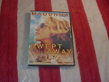 Swept Away (DVD) Madonna, Adriano Giannini  NEW