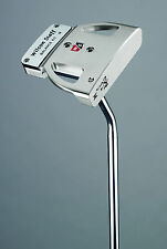 """Kirk Currie KC-4 Milled Aluminum Precision Putter made for Wilson -New- 34"""" MRH"""