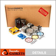 Fit 97-01 Honda Prelude 2.2L DOHC Full Gaskets Pistons Bearings Rings Set H22A4