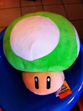 power up mushroom fungo verde super Mario bros  26 cm   pelusche cotone