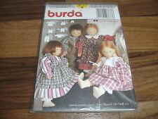 BURDA Schnittmuster 3677  --  7-teilige PUPPENKLEID-KOMBINATION / NEW MUNICH ART