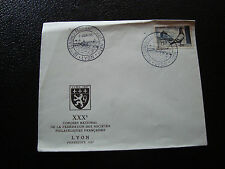 FRANCE - enveloppe 8/6/1957 (cy20) french