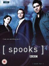 Spooks - season 4 - (5-Disc Set) DVDS LIKE NEW FREE POST AUSTRALIA REGION 4