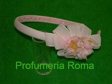 CERCHIETTO PER CAPELLI BAMBINA ROSA COD. 17246 Made in Italy Frontino Bimba
