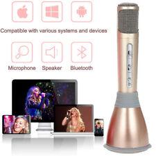 Wireless Handheld Microphone Ktv Karaoke Stereo Usb Player Bluetooth Speaker mh