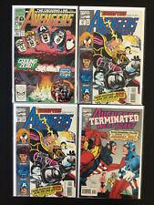 4 Issue Lot - Avengers 323 West Coast 101, 101, 102 X-Men Bloodties