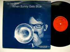 CHET BAKER -When Sunny Gets Blue Steeplechase Audiophile EX+ Vinyl LP ULTRASONIC