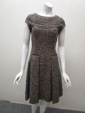 Oscar de la Renta Made in Italy Butter Soft Alpaca Tweed Skirt Dress Size 4