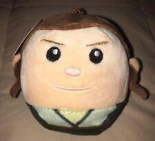 "HALLMARK FLUFFBALLS Star Wars REY GIRL 4"" BALL ORNAMENT Stuffed Animal NEW"